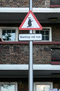 Banksy Rat Run